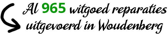 Al 965 witgoed reparaties uitgevoerd in Woudenberg